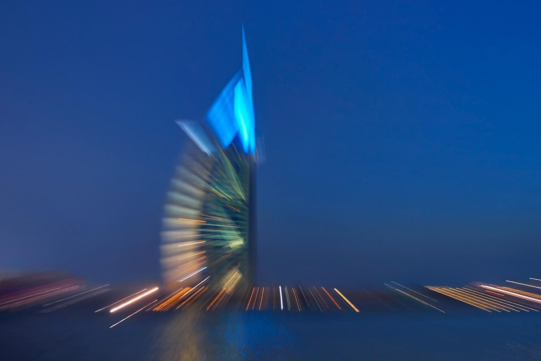 Burj Al Arab c-print under acrylic glass, limited edition of 7 80 x 120 cm