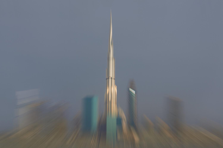 Burj Khalifa c-print under acrylic glass, limited edition of 7 80 x 120 cm
