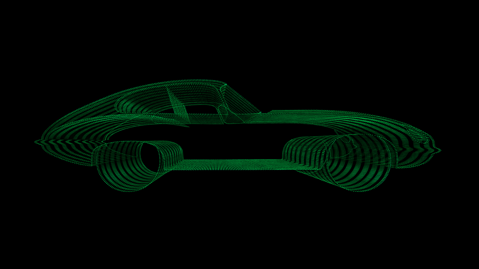 Racing Green c-print under acrylic glass, limited edition of 99  90 x 160 cm