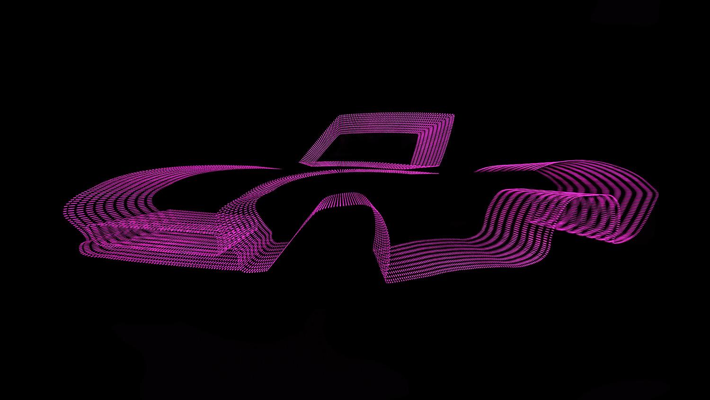 Corvette c-print under acrylic glass, limited edition of 7 90 x 160 cm