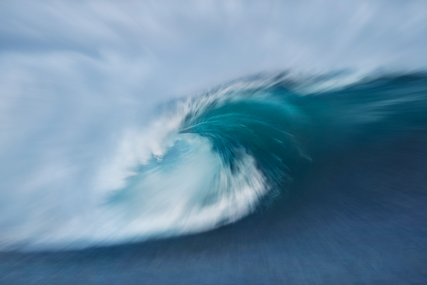 Teahupoo 2 giclee print on archival paper, limited edition of 7 60 x 90 cm