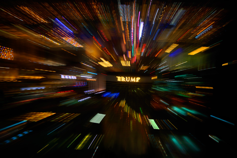 Trump c-print under acrylic glass, limited edition of 7 120 x 180 cm